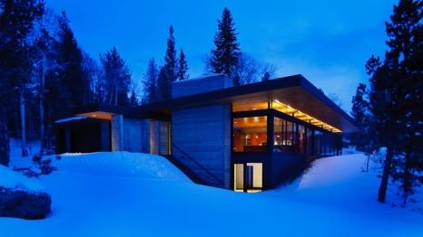 2010 Merit Award - Architect: Stephen Dynia Architects - Location: Wyoming