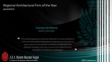Regional Firm of the Year Award - Carney Architects
